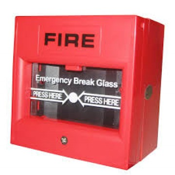 AC-Emergency Break Glass- Red (EM-BG-R)
